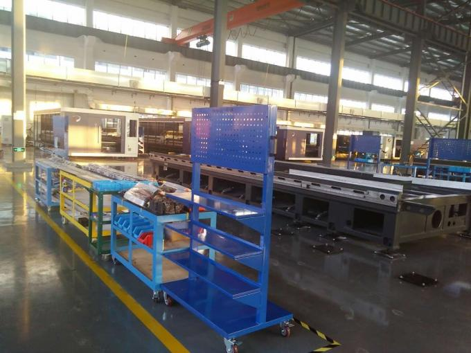 High Performance Fiber Laser Cutting Machine 200 M/Min for Metal Processing Industry