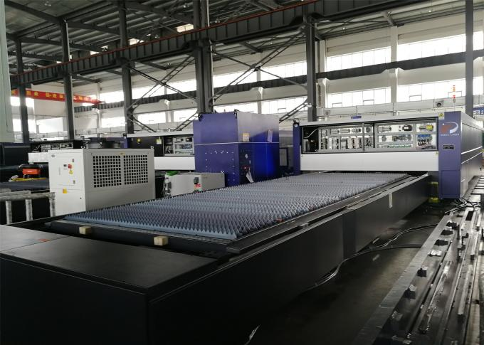 High Speed CNC Laser Cutting Machine For Stainless Steel Carbon 12000W