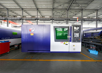 China High Speed CNC Laser Cutting Machine For Stainless Steel Carbon 12000W supplier