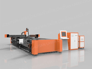 500W Raycus Laser Source Fiber Laser Cutting Machine For Metal Laser Industry