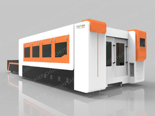 China CE Fiber Laser Metal Cutting Machine 1000W Raycus Middle Power Laser Source supplier