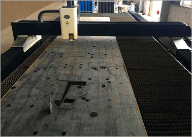 China High Reliability Sheet Metal Laser Cutting Machine with Precitec Cutting Head factory