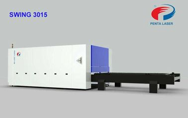 China Sheet Metal CNC Laser Steel Cutting Machine for Kitchenware , 500W Power factory