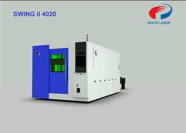 China High Acceleration Laser Metal Cutting Equipment 4000mm×2000mm 120m/Min Speed factory