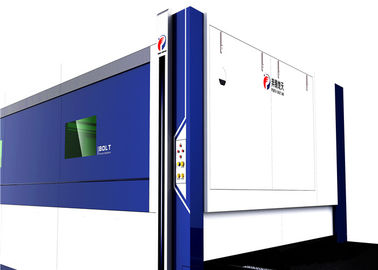 China Heavy Duty Fiber Laser Metal Cutting Machine 1200W Power Italy Technology factory