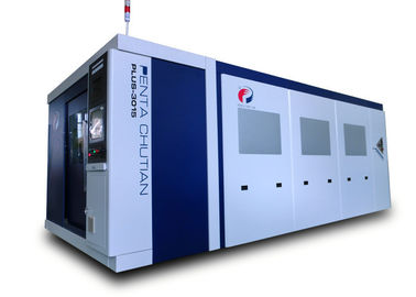 China Mild Steel Industrial CNC Laser Cutting Machine 2400W Power Water Cooling factory