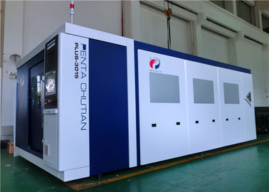 China High Efficiency Stable Metal Laser Cutting Machine 12000W For Mild Steel factory