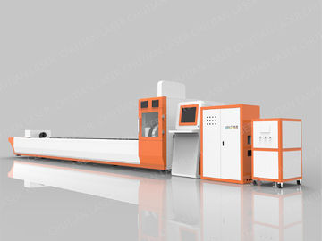 China 500W CNC Laser Cutting Machine Fiber Laser Cutting System High Efficiency distributor