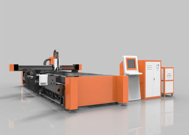 China Tube / Pipe Fiber Laser Cutting Equipment Both For Metal Plate And Metal Pipe distributor