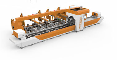 China Automatic Feeding Steel Pipe Laser Cutting Machine For Various Shape Ture distributor